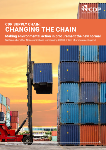 CDP Supply Chain Initiative