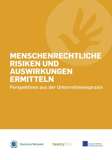 Menschenrechtliche Risiken und Auswirkungen ermitteln. Perspektiven aus der Unternehmenspraxis