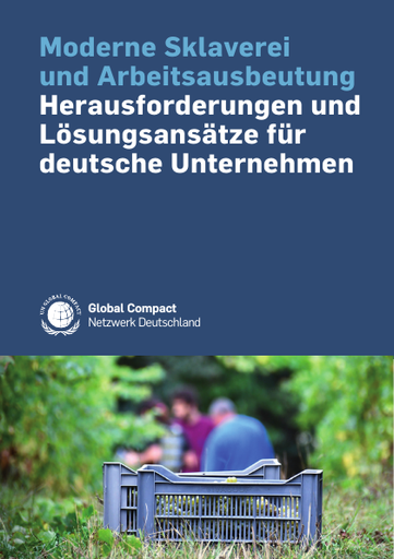 Moderne Sklaverei und Arbeitsausbeutung - Herausforderungen und Lösungsansätze für deutsche Unternehmen