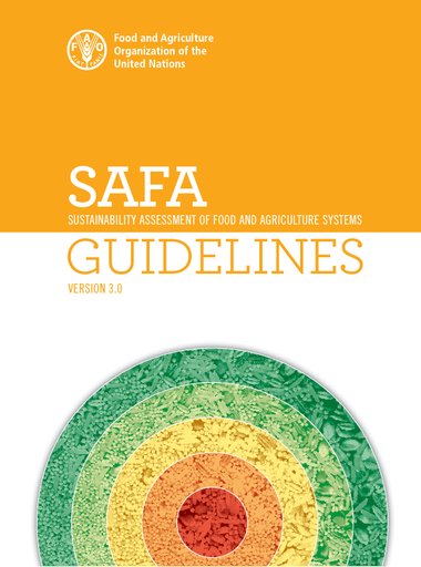 Sustainability Assessment of Food and Agriculture systems (SAFA)