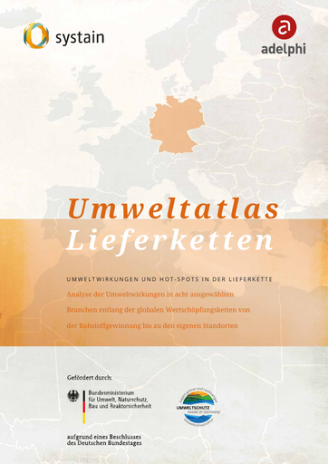 Umweltatlas Lieferketten Deutschland