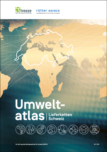 Umweltatlas Lieferketten Schweiz