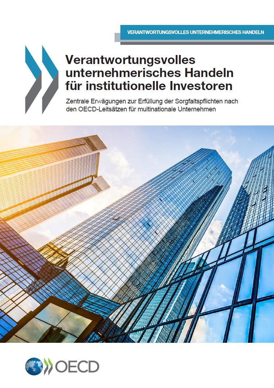 Verantwortungsvolles unternehmerisches Handeln für institutionelle Investoren
