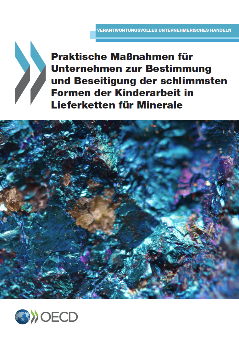 Praktische Maßnahmen für Unternehmen zur Bestimmung und Beseitigung der schlimmsten Formen der Kinderarbeit in Lieferketten für Minerale
