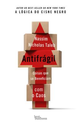 Livros sobre Estoicismo: Antifrágil — Nassim Nicholas Taleb