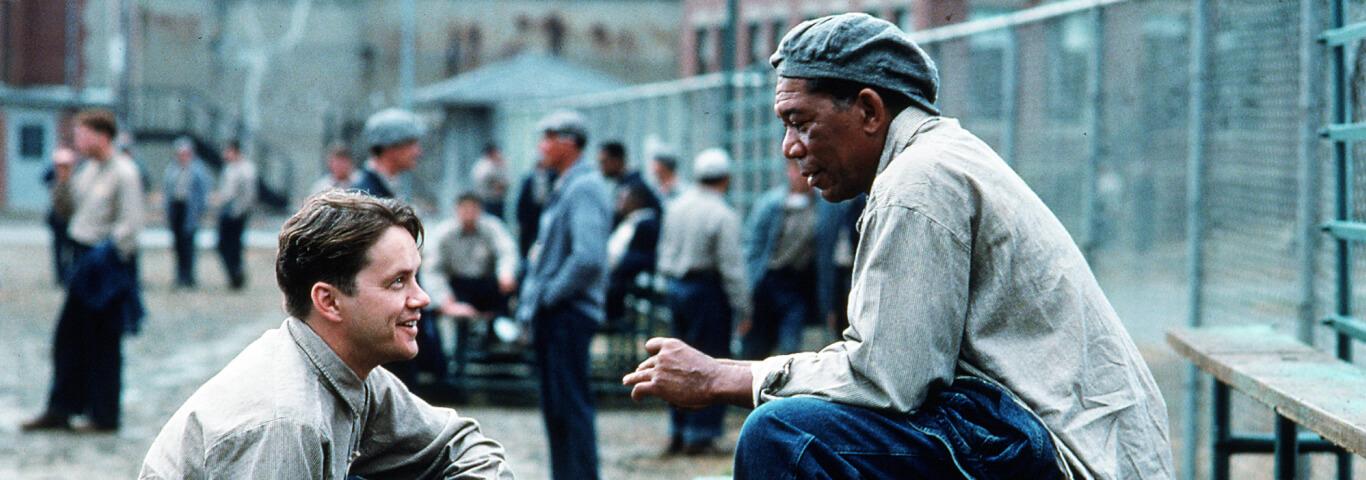 Cena do Filme Um Sonho de Liberdade (1994)