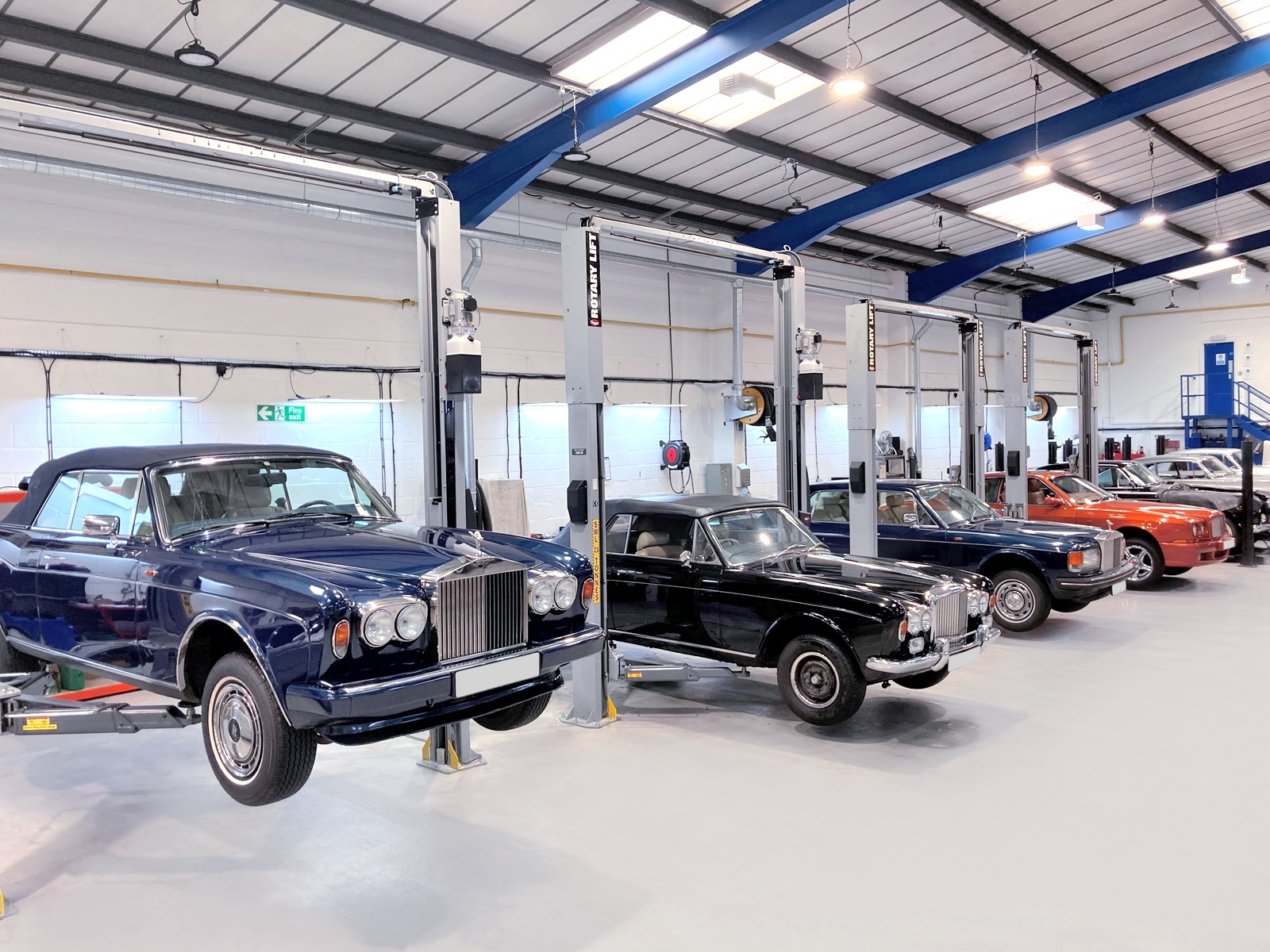Servicing for modern classic Bentley and Rolls-Royce cars