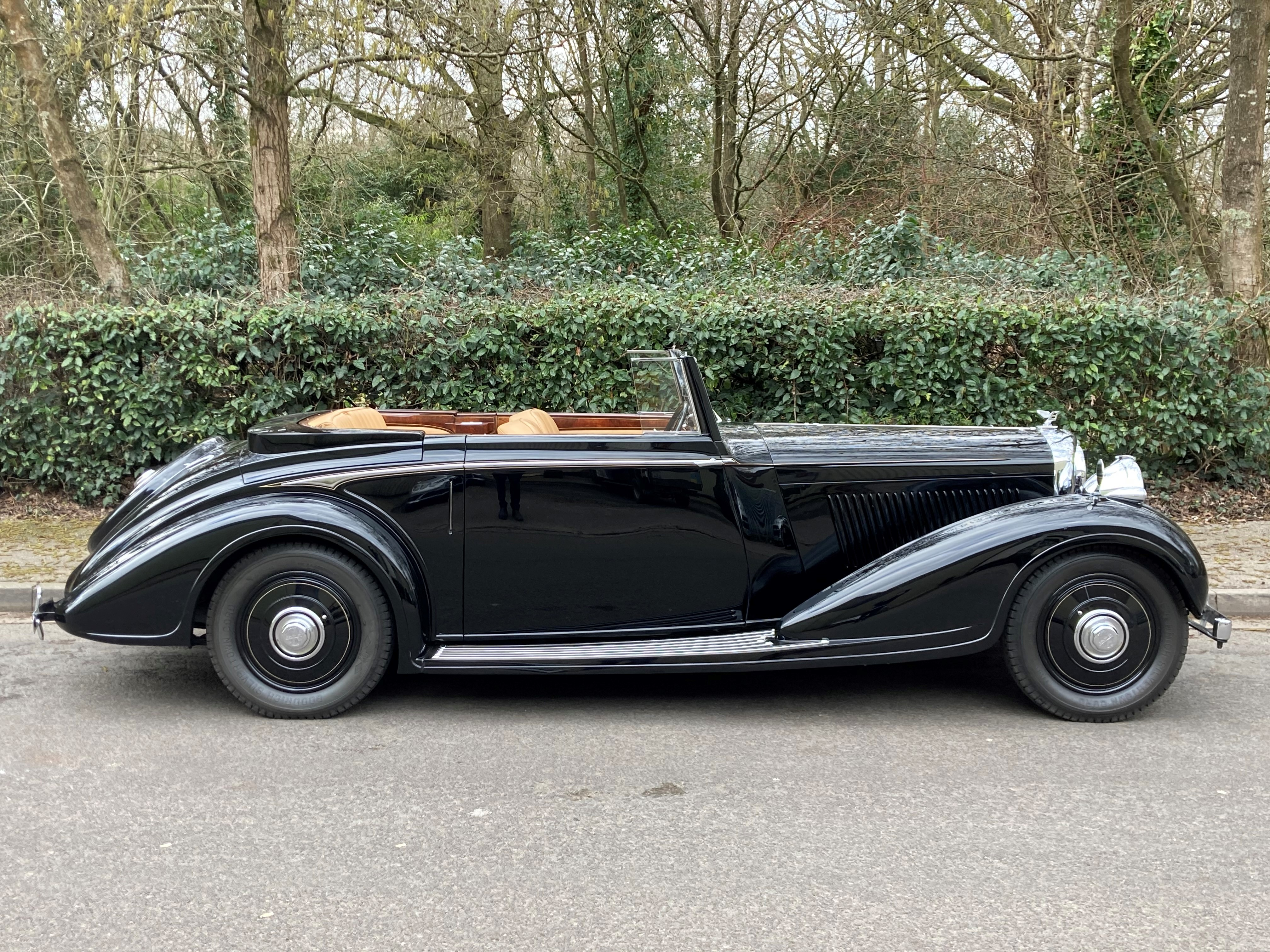 1938 Bentley 4 1/4 Litre Concealed Drophead Coupe by H.J.Mulliner