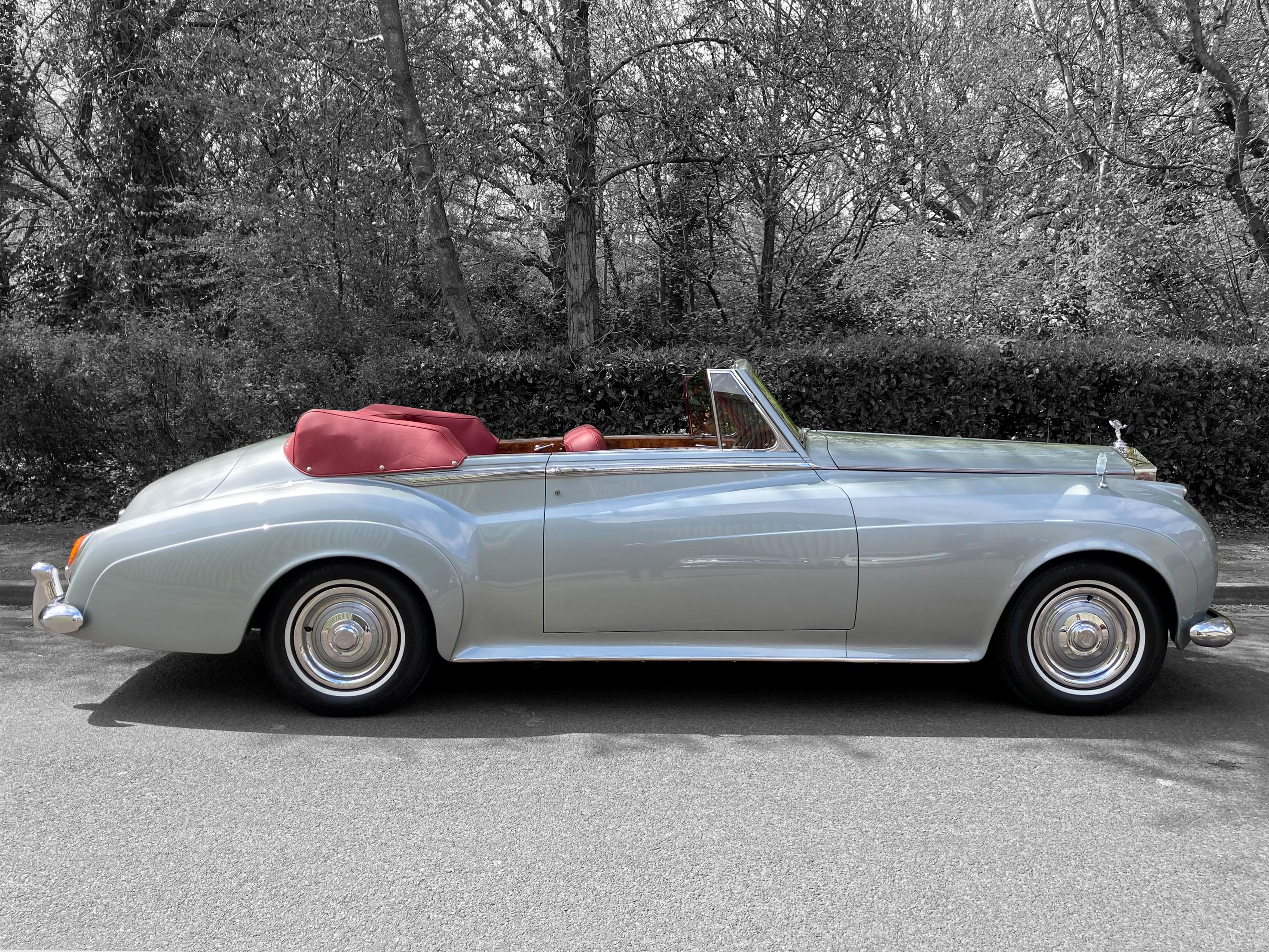 1960 Rolls-Royce Silver Cloud II Drophead Coupe by H.J.Mulliner