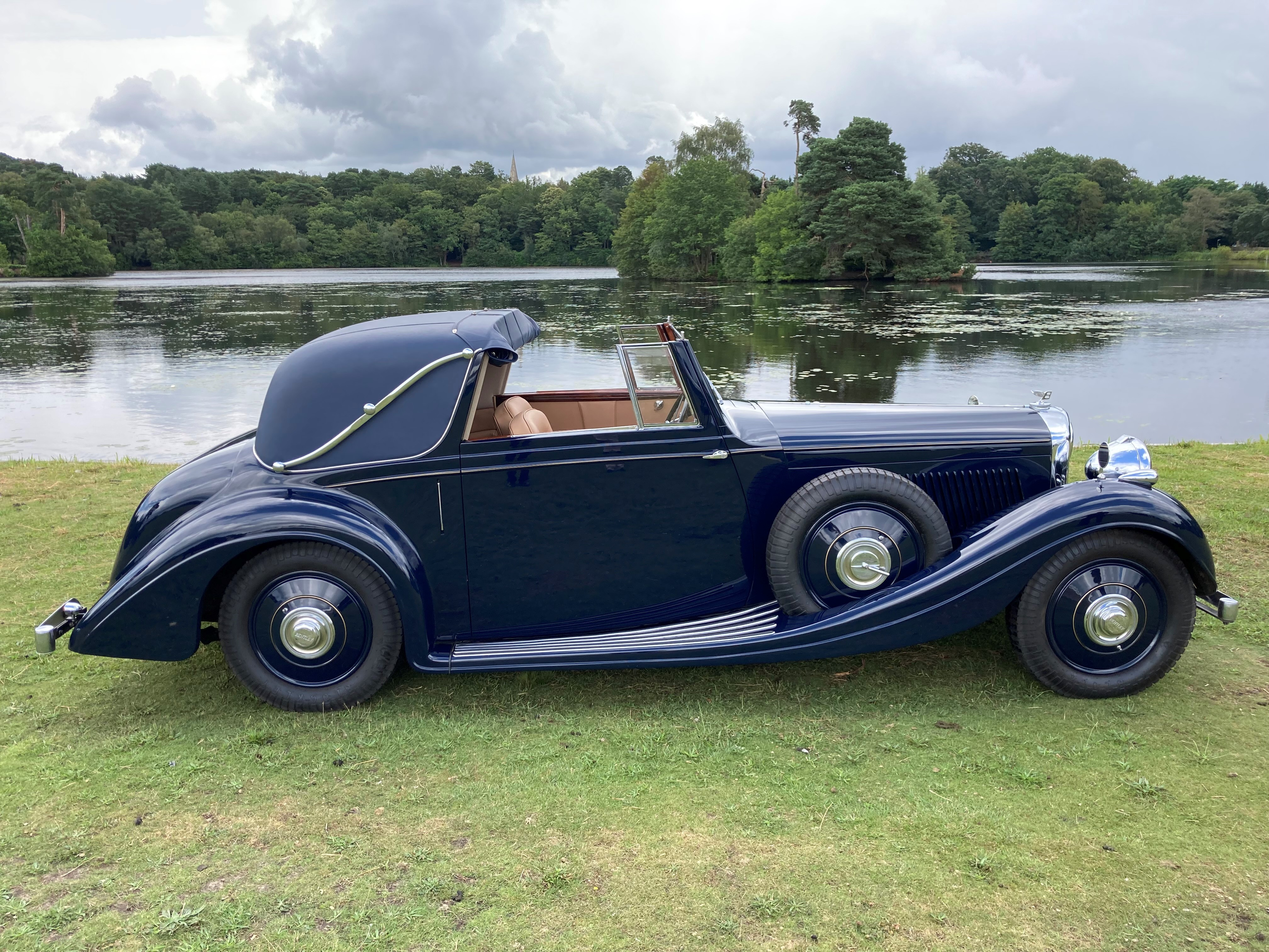 1937 Bentley 4 1/4 Litre Sedanca Coupe by Gurney Nutting