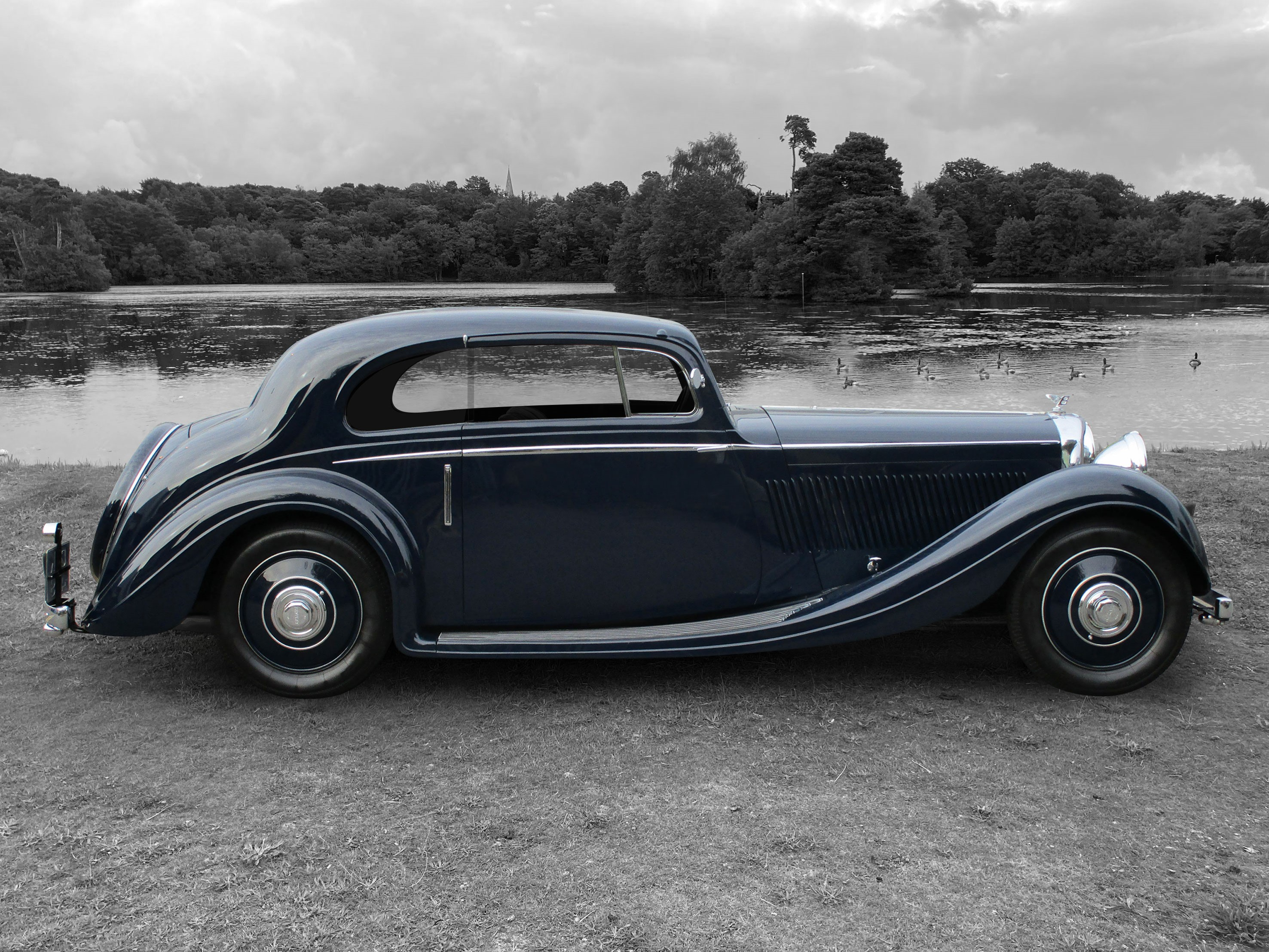 1936 Bentley 3 1/2 Litre Curvilinear Coupe by Gurney Nutting
