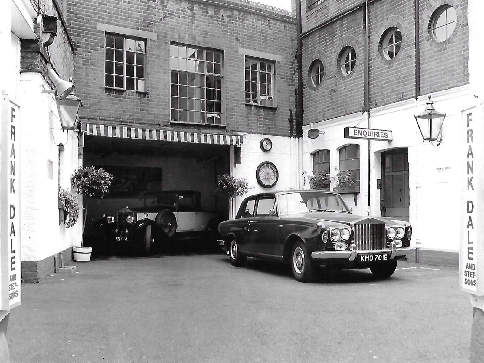 History of Frank Dale and Stepsons - Specialists in sales and maintenance of Bentley and Rolls-Royce cars