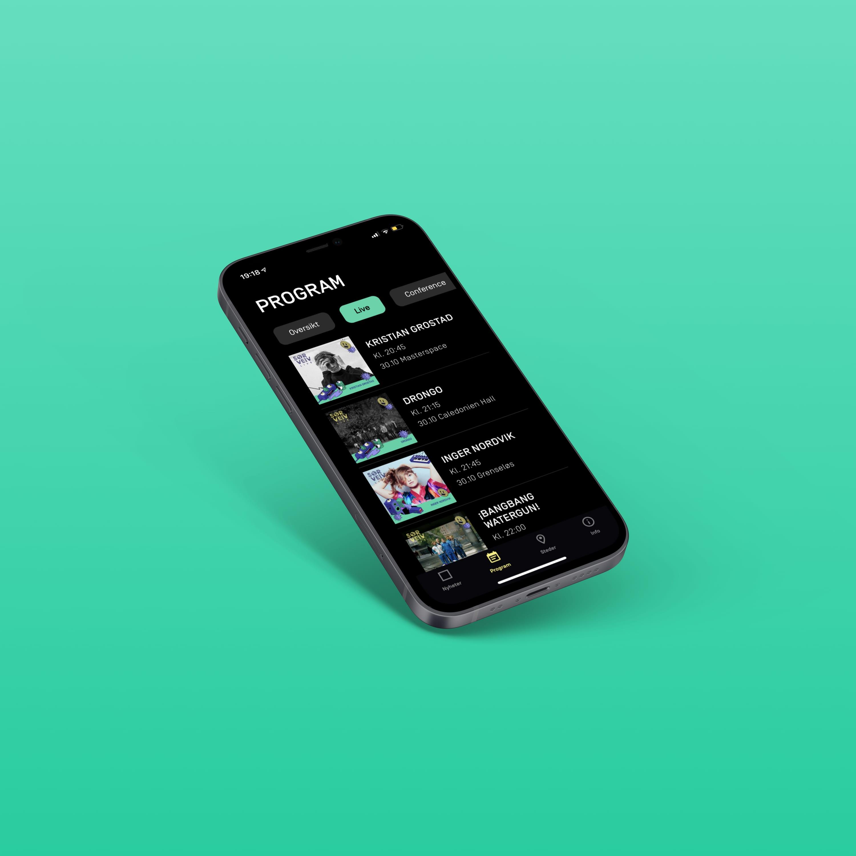 App for Sørveiv 2020
