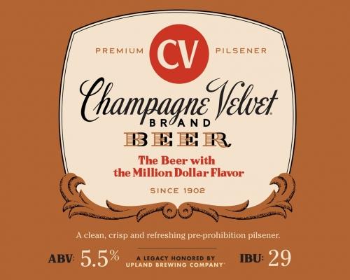 Upland Champagne Velvet