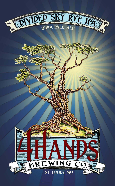 4 Hands Divided Sky