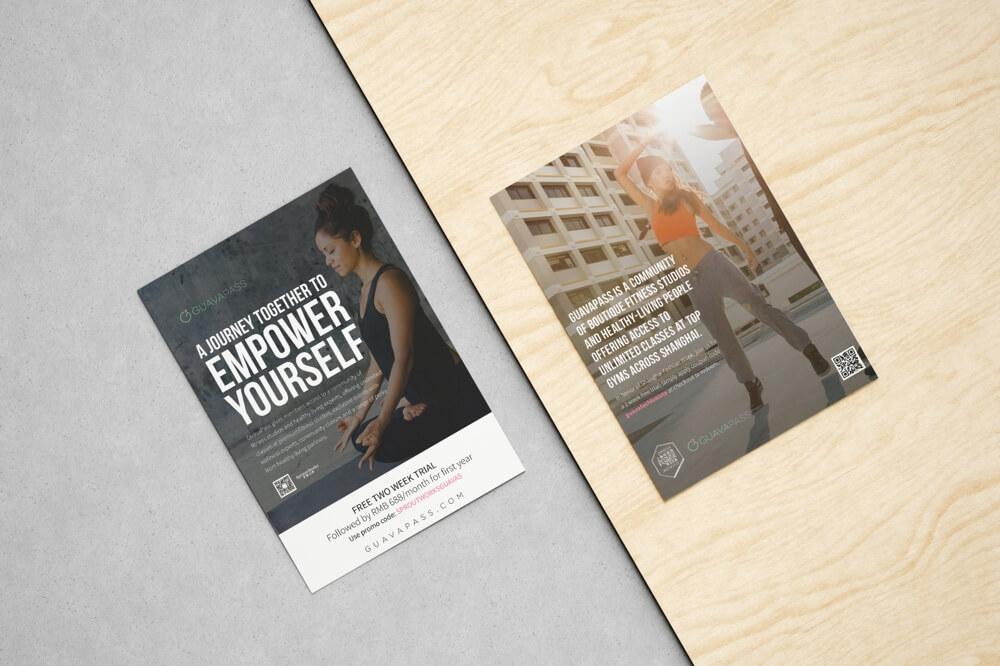 Guavapass flyers for Prints