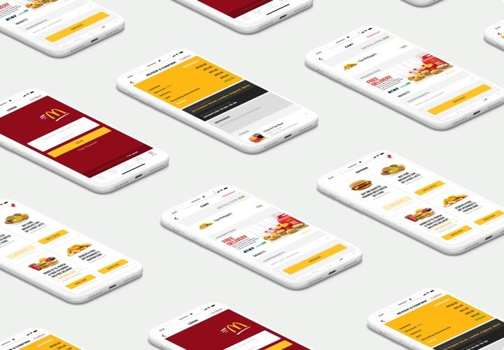 McDonald's screens