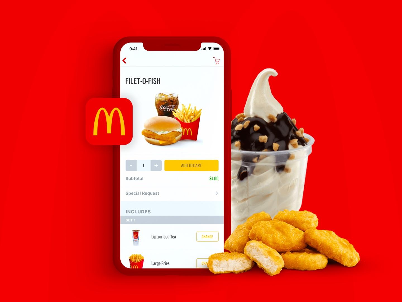 McDonalds Delivery App