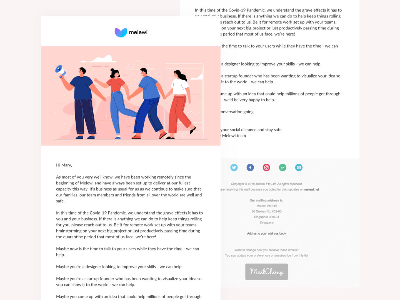 Melewi Newsletter