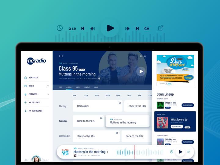 MeRadio Web App
