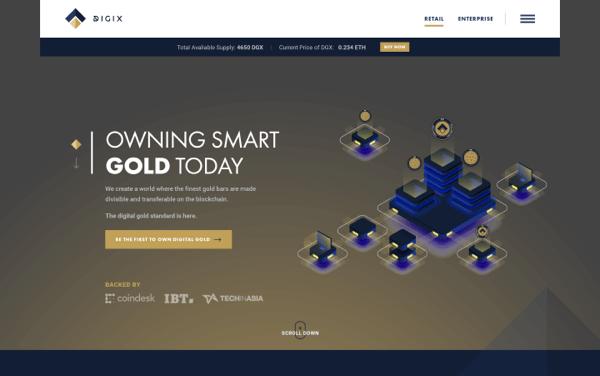 Digix homepage screenshot