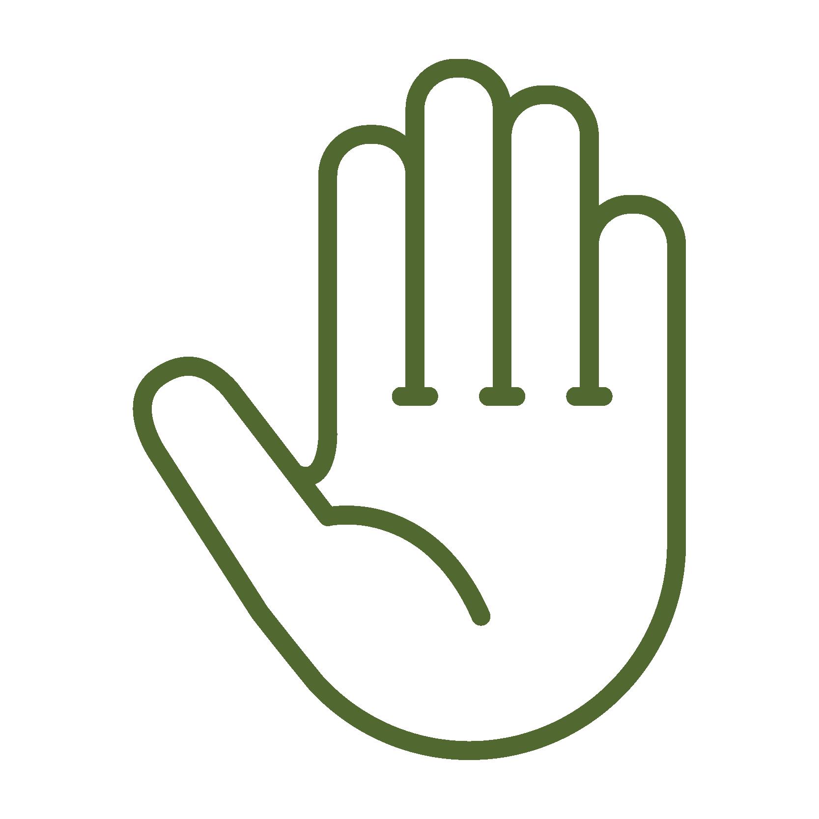Hand aandoeningen icon