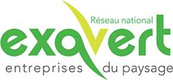 Logo Exavert - Entreprises du paysage