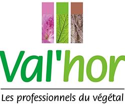 Logo Val'Hor - Professionnels du végétal