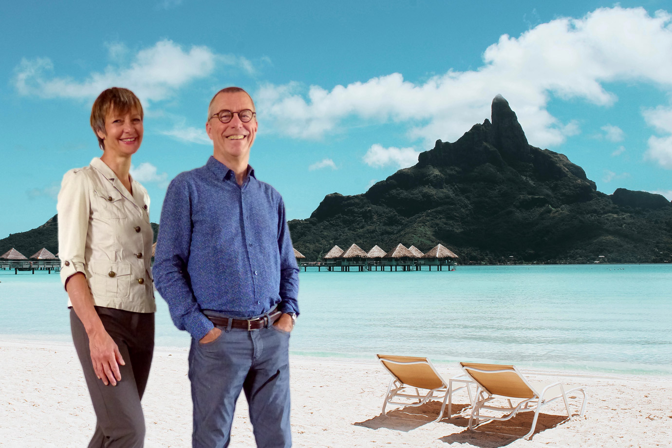 Montage photo Thierry et Catherine Muller