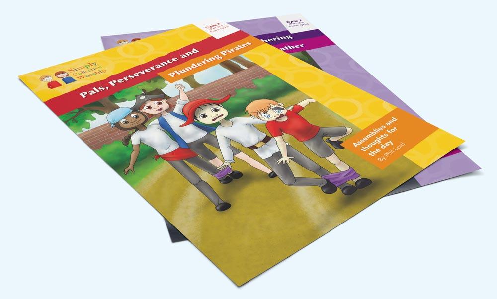 Graphic Design for Leaflets in Warwickshire