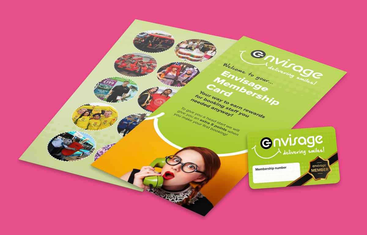 Graphic design for Marketing Materials based in Warwickshire