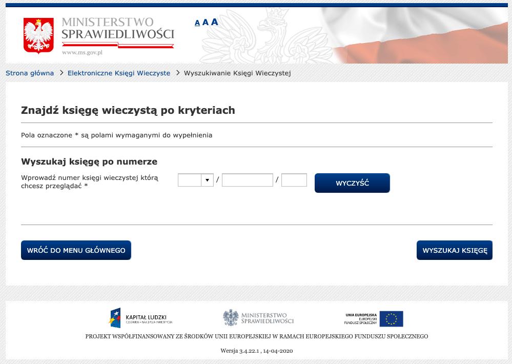 czysty formularz