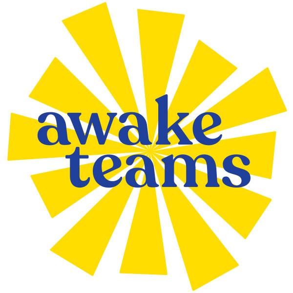 AwakeTeams logo - a bright sunburst