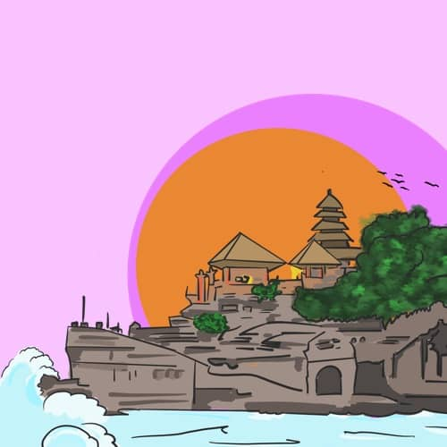 Top Bali Tip: Ocean Temple - Pura Tanah Lot
