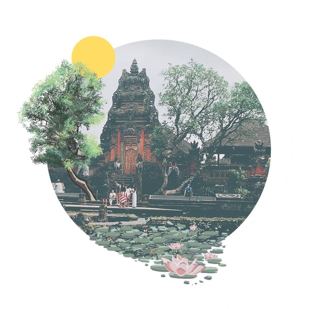 Visit the Temple Palace Ubud - Puri Saren Agung