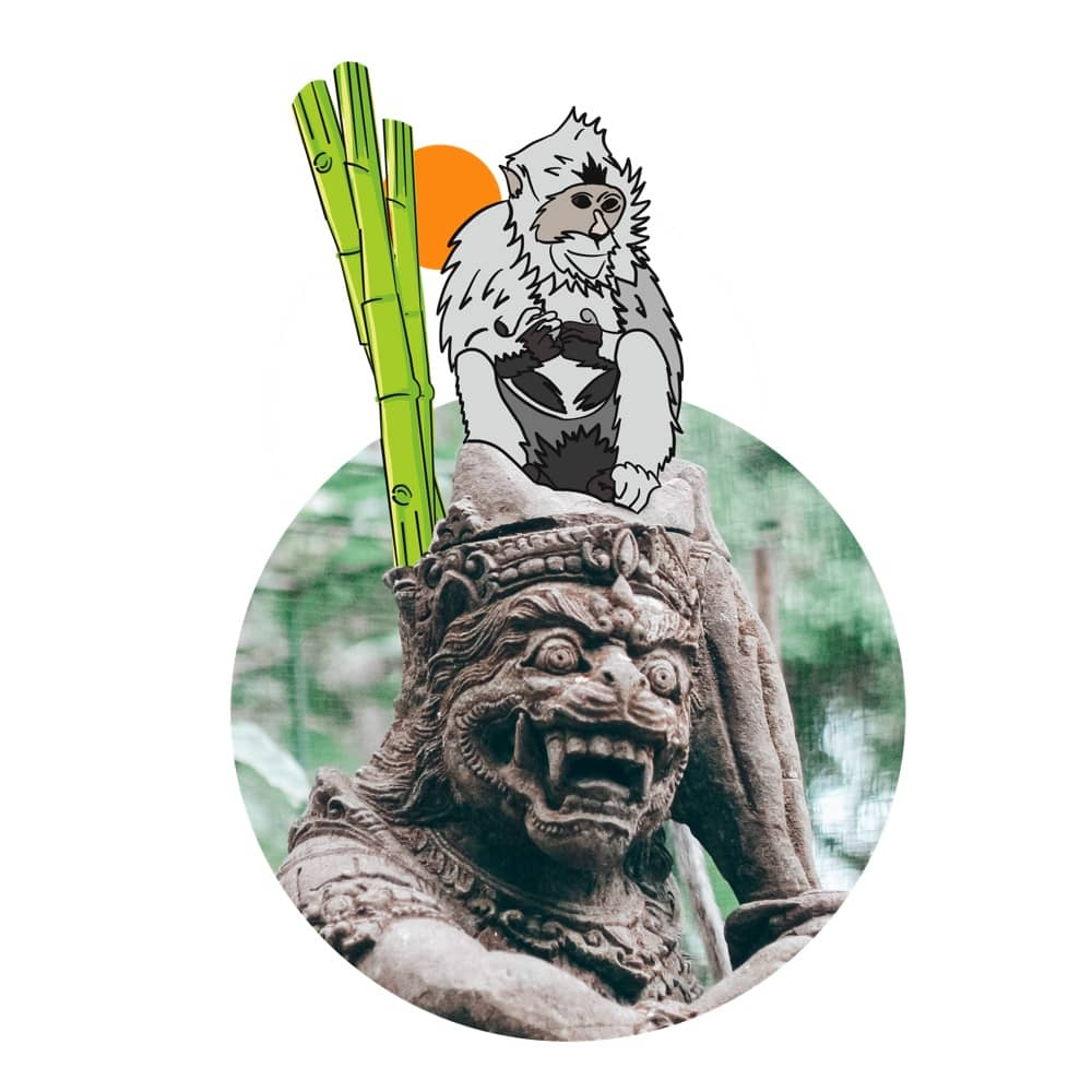 Ubud Sacred Monkey Forest - Watch out the Monkeys are coming