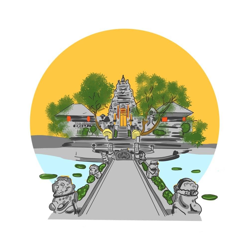 Visit Ubud - Sacred monkey forest and other interesting sights