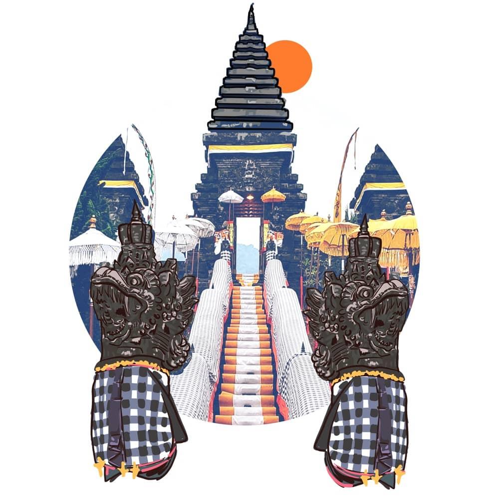 The Heaven Gate - Pura Besakih