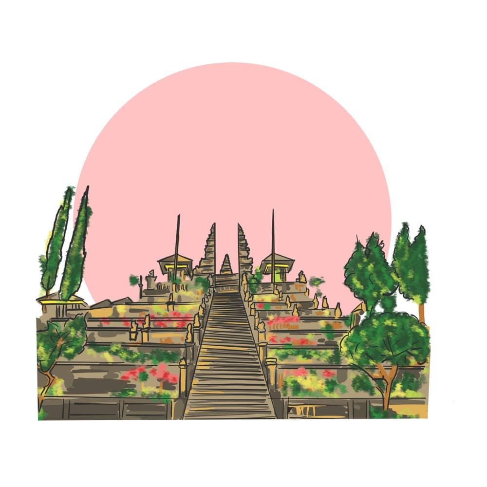 Visit Balis Ancient Temple Pura Besakih