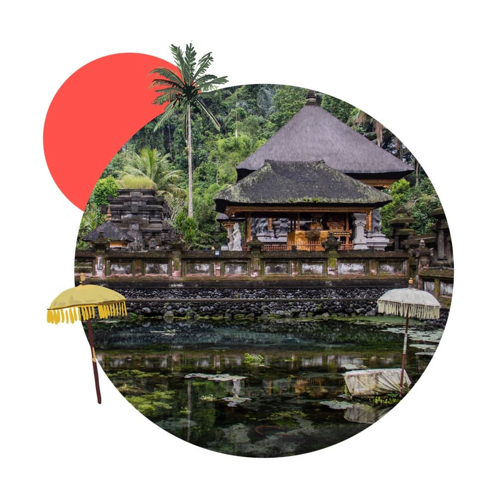 Check out the Pura Tirta Empul Temple on Bali when make your sightseeing.
