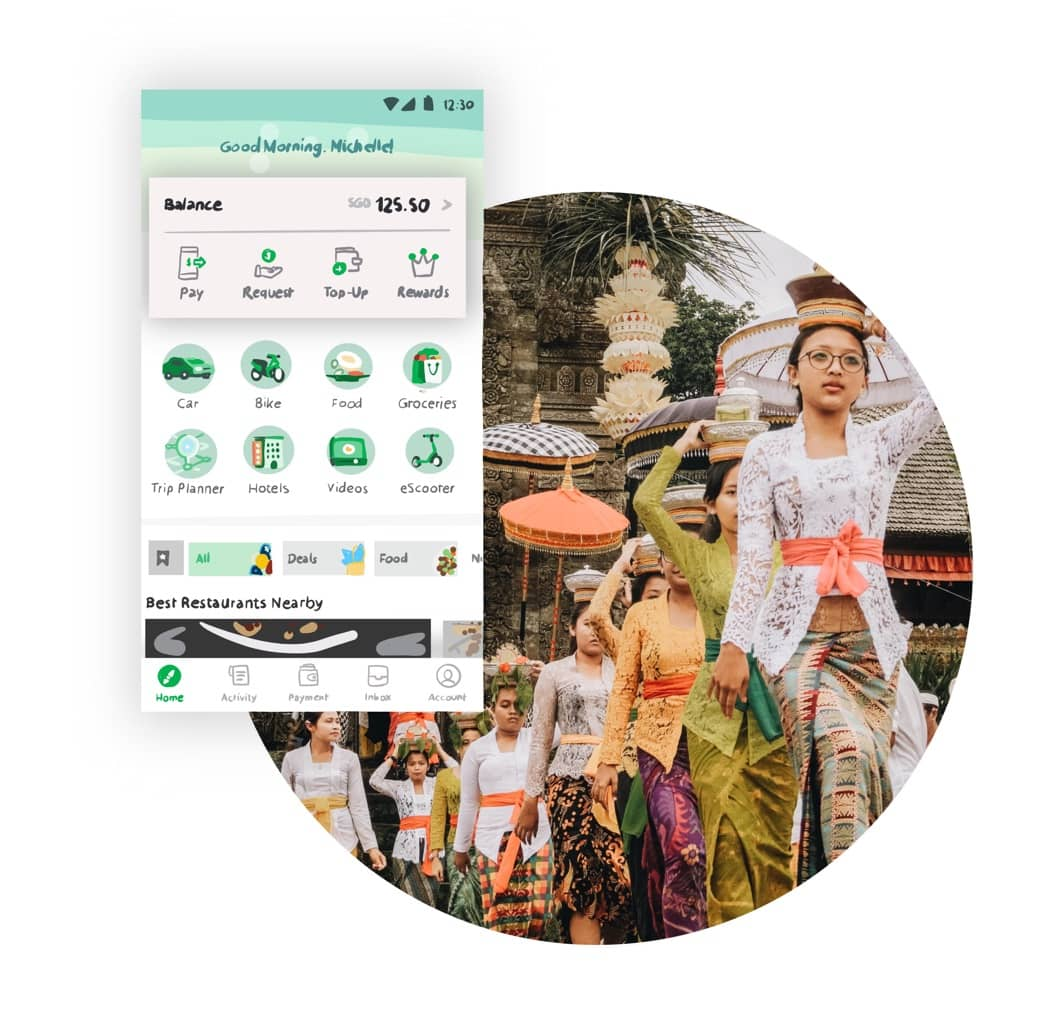 Does the Grab App really work for Bali Sightseeing?