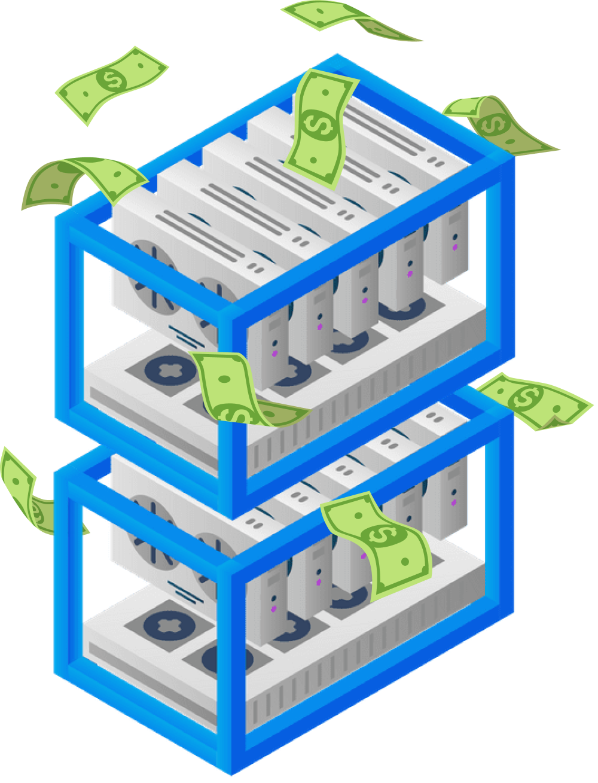 earn money | FluidStack cheap gpu rent compute cloud aws gcp