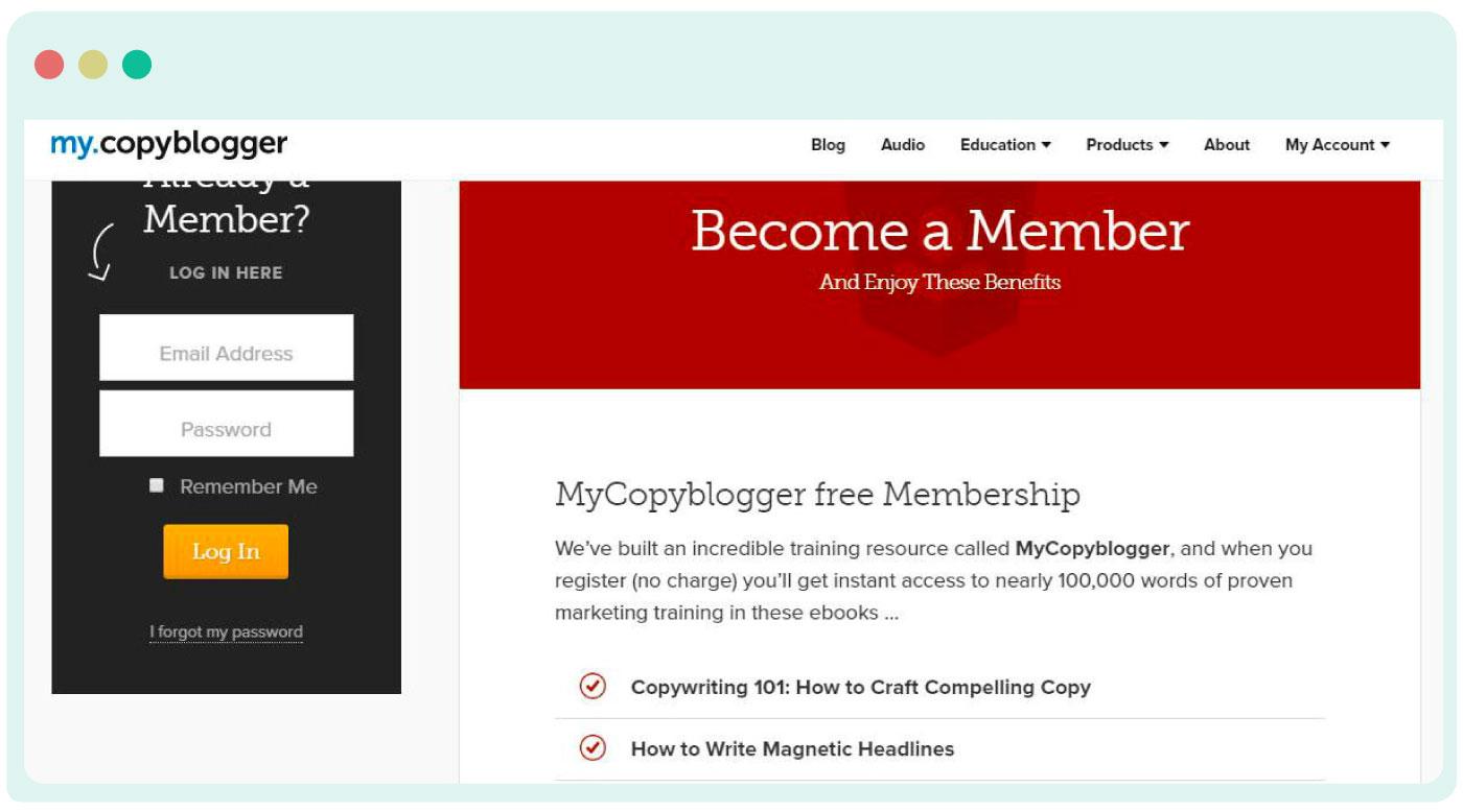 MyCopyBlogger repurposing content  to e-books