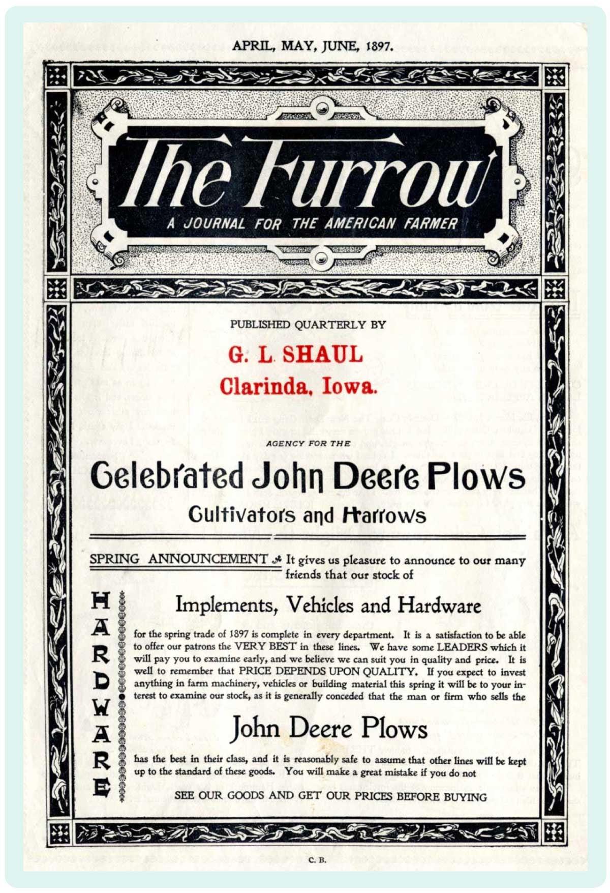The Furrow by John Deere