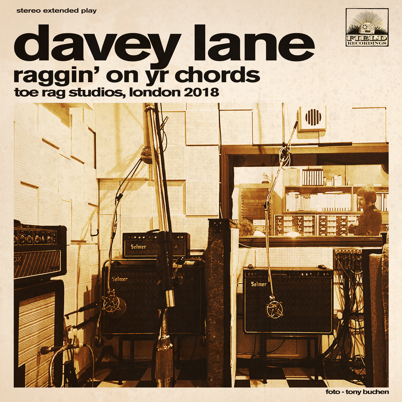 Raggin' on yr chords album cover art
