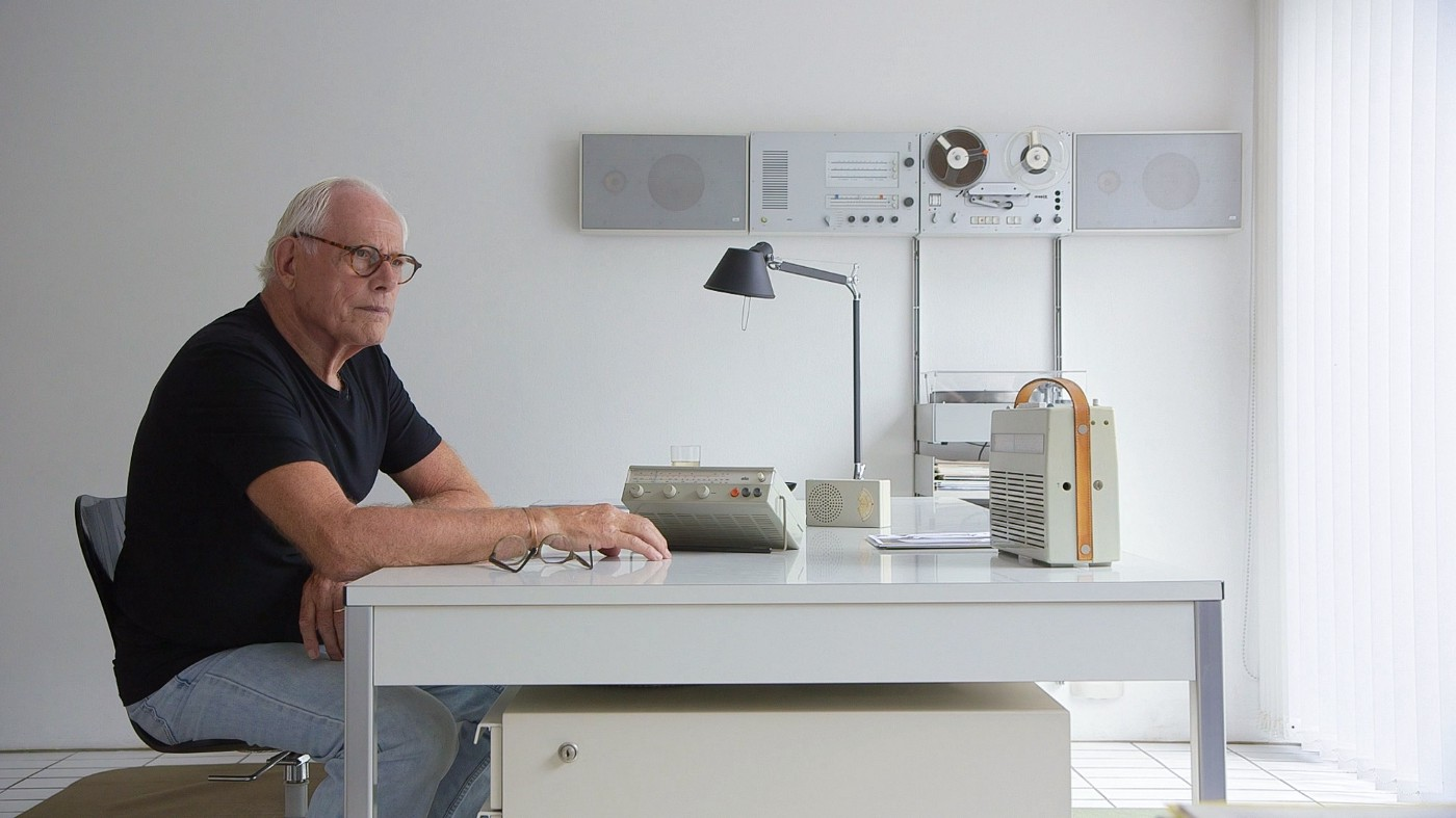 Dieter Rams looking out
