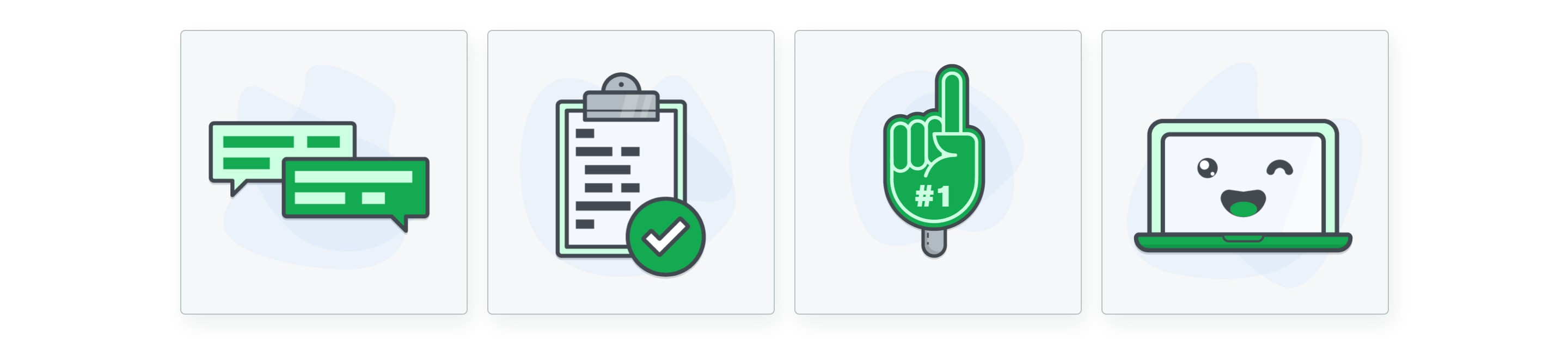 Illustrations of our pillars in the MongoDB design team process