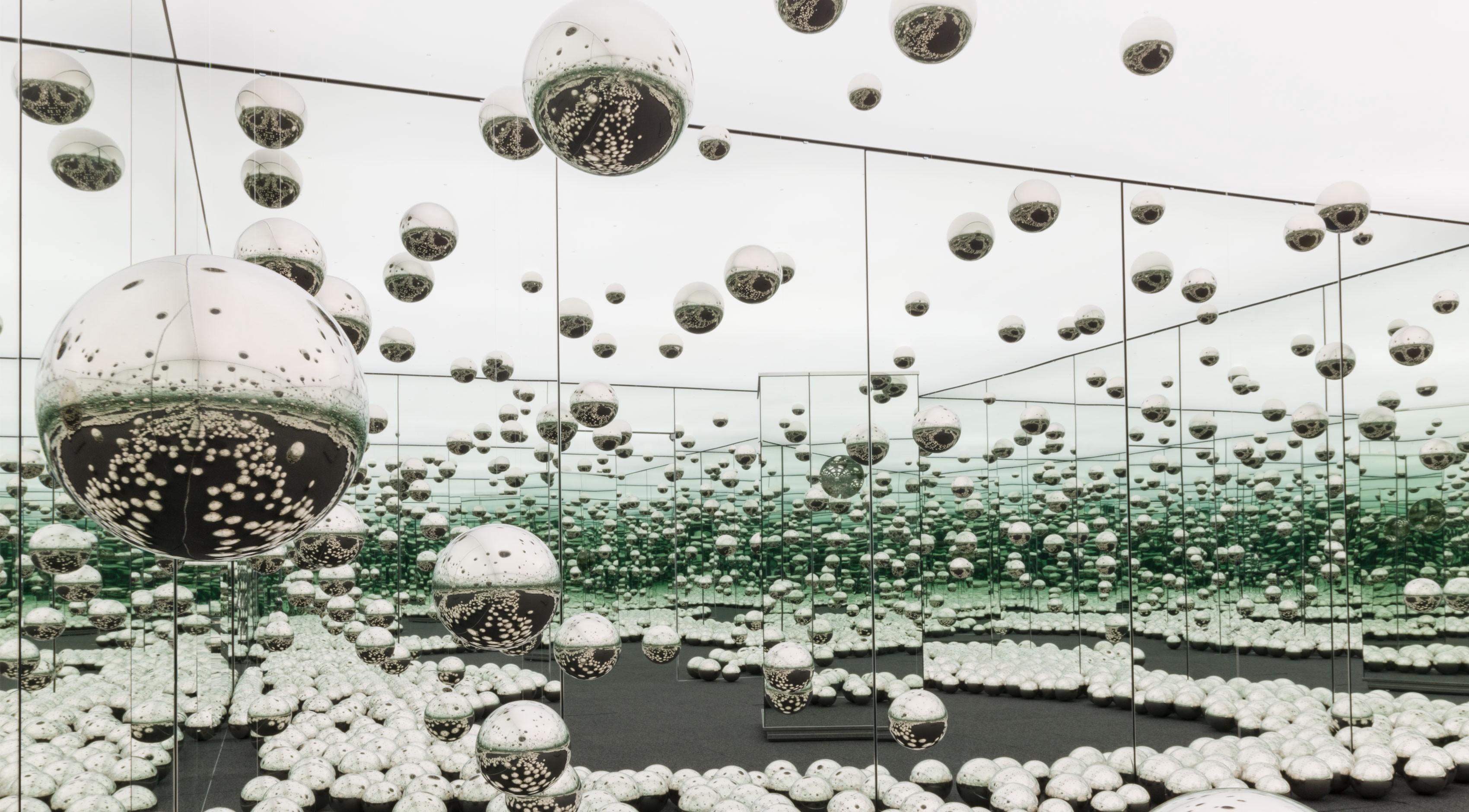 Kusama's Infinity Room exhibition