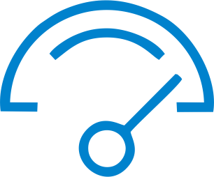 Monitoramento de Rede e sensores . ícone solução de TI Monitoramento