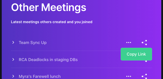 How to share meeting